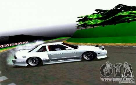 Nissan S13 Onevia para visión interna GTA San Andreas