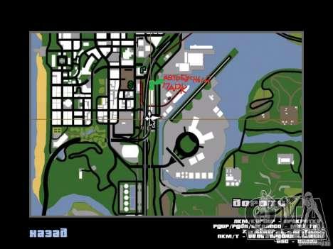 Bus Parque v1.1 para GTA San Andreas séptima pantalla