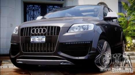 Audi Q7 V12 TDI Quattro Final para GTA 4