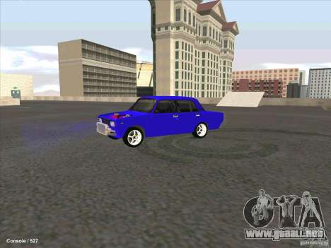 ВАЗ 2107 Drift para GTA San Andreas left