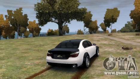 BMW M5 Lumma para GTA 4 left
