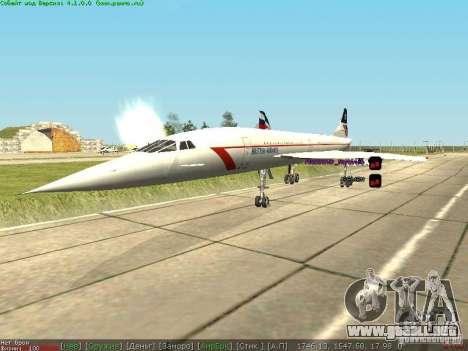 Concorde [FINAL VERSION] para la visión correcta GTA San Andreas
