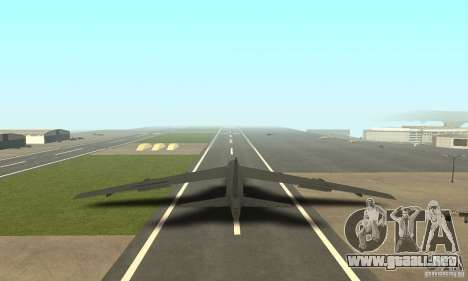 Boeing B-52H Stratofortress para GTA San Andreas left