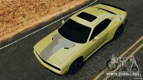 Dodge Rampage Challenger 2011 v1.0 para GTA 4 vista interior