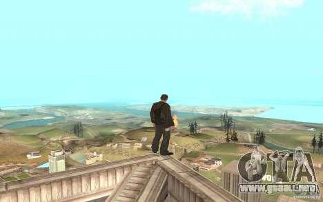 Unique animation of GTA IV V3.0 para GTA San Andreas octavo de pantalla