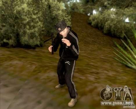 SkinPack for GTA SA para GTA San Andreas quinta pantalla