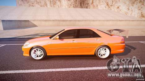 Toyota JZX110 para GTA 4 left