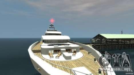 Yacht v1 para GTA 4 tercera pantalla