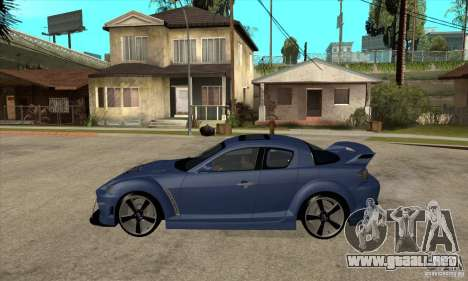 Mazda RX-8 v2 para GTA San Andreas left
