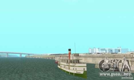 RMS Segwun Ferry para GTA San Andreas