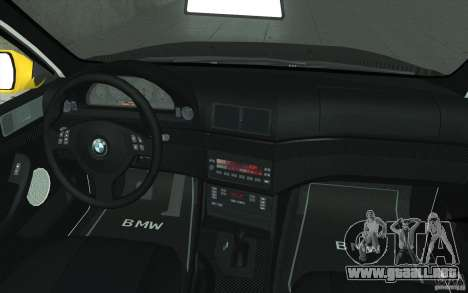 BMW M5 E39 - FnF4 para la vista superior GTA San Andreas