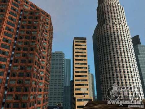 Nueva textura de rascacielos Downtown para GTA San Andreas sucesivamente de pantalla