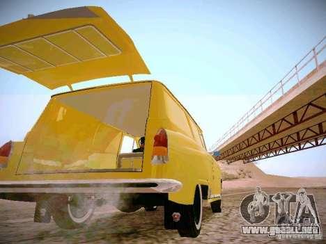 Van GAS 22B para visión interna GTA San Andreas