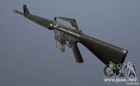 M16A1 para GTA Vice City segunda pantalla