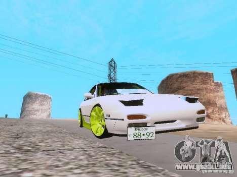 Nissan Silvia S13 Drift Style para la visión correcta GTA San Andreas