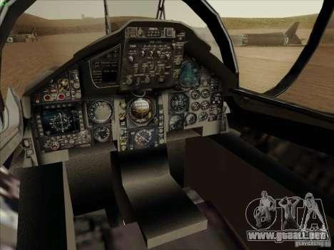 F-15 SMTD para visión interna GTA San Andreas