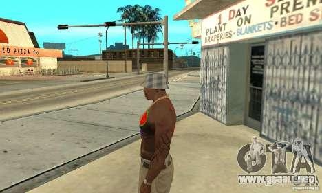 Tatuaje Cool en CJ-que en el cuerpo para GTA San Andreas segunda pantalla