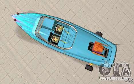 Hot-Boat-Rot para la visión correcta GTA San Andreas