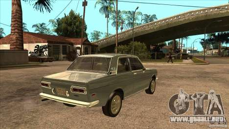 Datsun 510 para la visión correcta GTA San Andreas