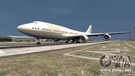 Real Emirates Airplane Skins Gold para GTA 4