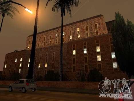 Nuevo hospital de texturas en Los Santos para GTA San Andreas sucesivamente de pantalla