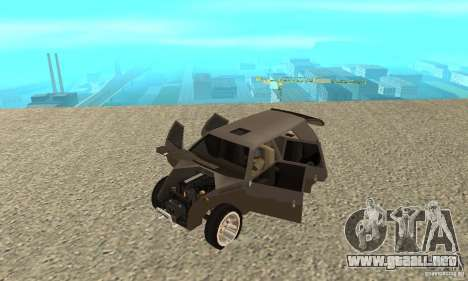 Jemala para GTA San Andreas vista hacia atrás