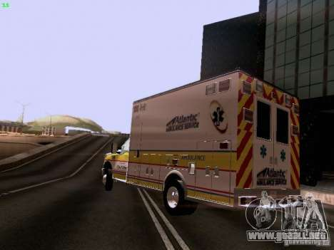 Ford F-350 Ambulance para GTA San Andreas left