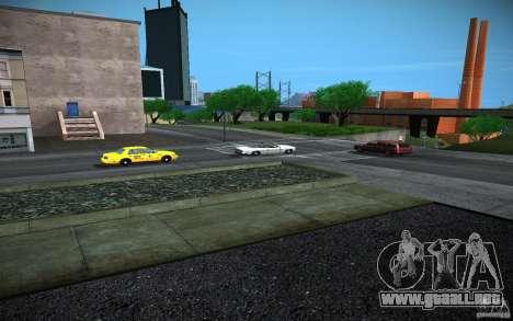 Carretera de HD (4 GTA SA) para GTA San Andreas sucesivamente de pantalla