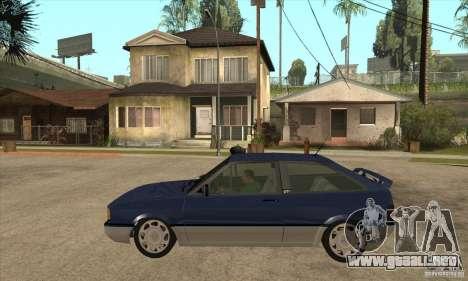 VW Gol GTI 1989 para GTA San Andreas left