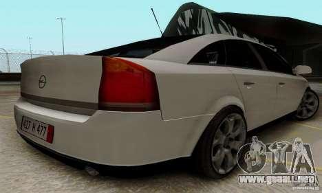 Opel Vectra C 2005 para la visión correcta GTA San Andreas