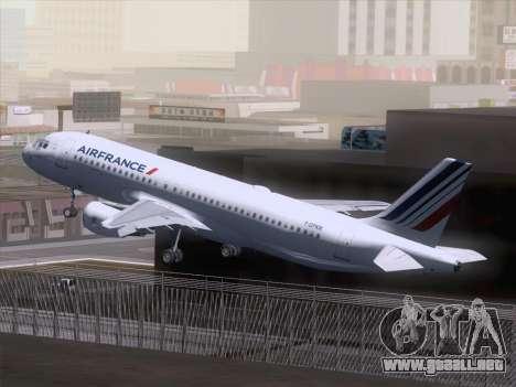 Airbus A320-211 Air France para visión interna GTA San Andreas