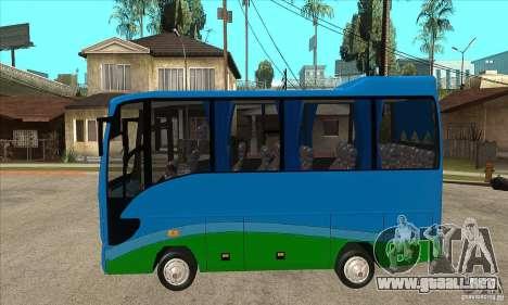Iveco Eurocity para GTA San Andreas left