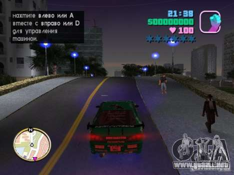 Nissan Silvia S15 Kei Office D1GP para GTA Vice City vista posterior