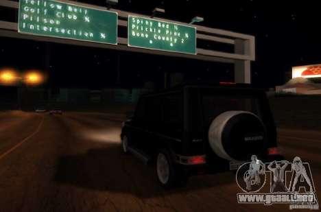 Graphic settings para GTA San Andreas séptima pantalla