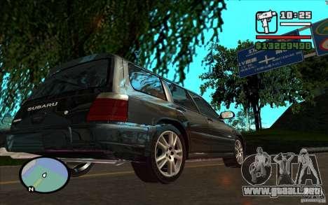 Subaru Forester para visión interna GTA San Andreas
