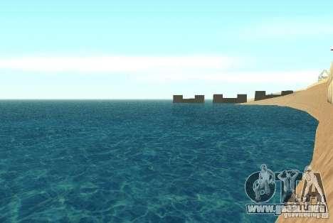 Agua nueva textura para GTA San Andreas