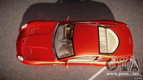 Ferrari 599 GTB Fiorano 2006 (Beta) para GTA 4 visión correcta