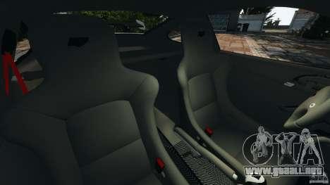 RUF RT12R 2011 para GTA 4 vista interior