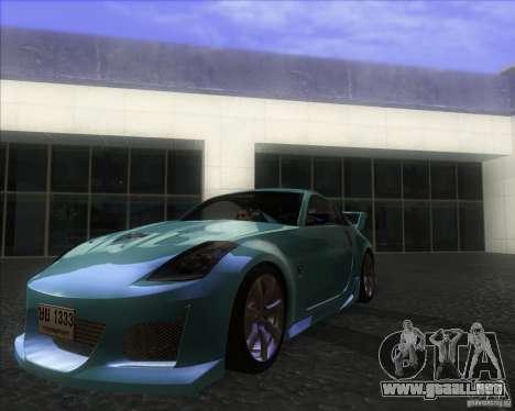 Nissan 350Z 2004 para GTA San Andreas