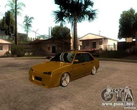 VAZ 21099 coche Tuning para GTA San Andreas