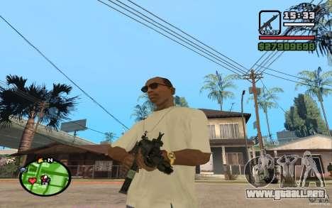 ACW-R HD para GTA San Andreas segunda pantalla