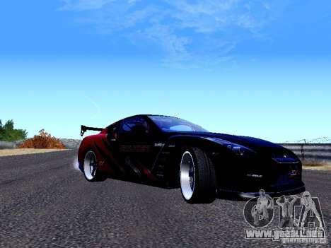 Nissan Skyline R35 Drift Tune para GTA San Andreas left