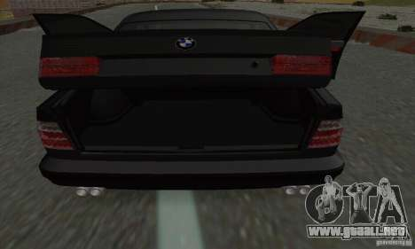 BMW M5 E34 para la vista superior GTA San Andreas