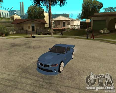 BMW Z4 Supreme Pimp TUNING volume I para GTA San Andreas left