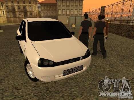 VAZ 1118 para la visión correcta GTA San Andreas