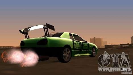 Elegy v0.2 para la visión correcta GTA San Andreas