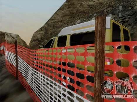 UAZ 2760 para visión interna GTA San Andreas