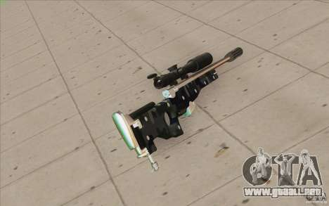 Low Chrome Weapon Pack para GTA San Andreas quinta pantalla