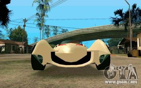 Mach 5 para la visión correcta GTA San Andreas