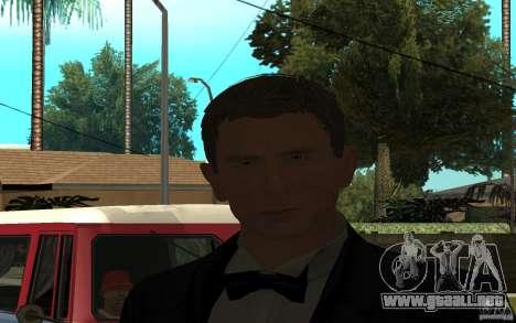 Agente 007 para GTA San Andreas tercera pantalla